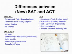 Solid Scores on SAT And ACT